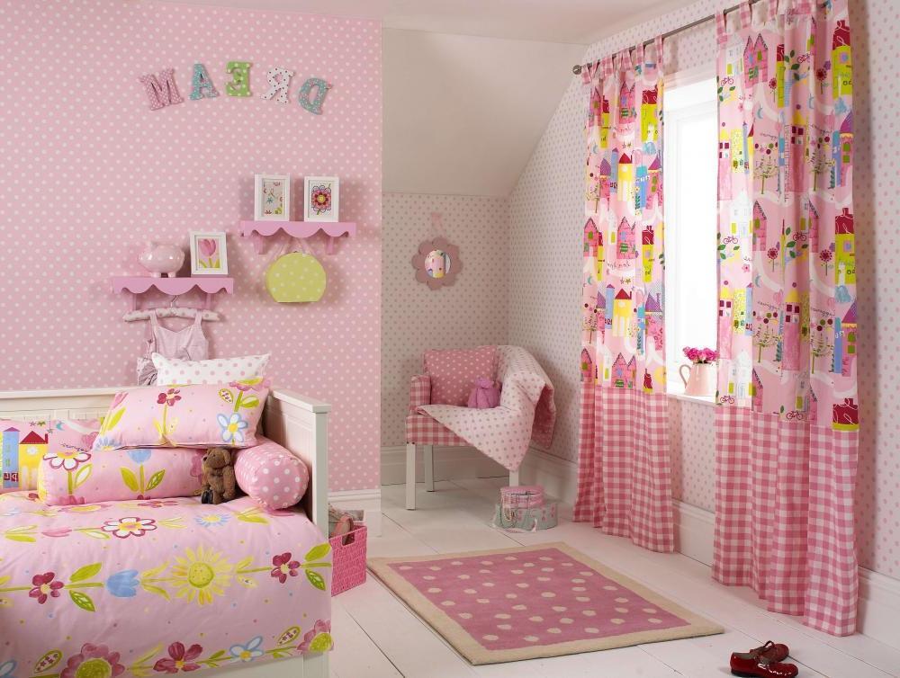 قیمت انواع پرده اتاق کودک
