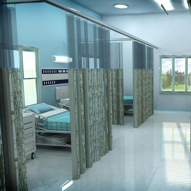 قیمت انواع پرده بیمارستانی