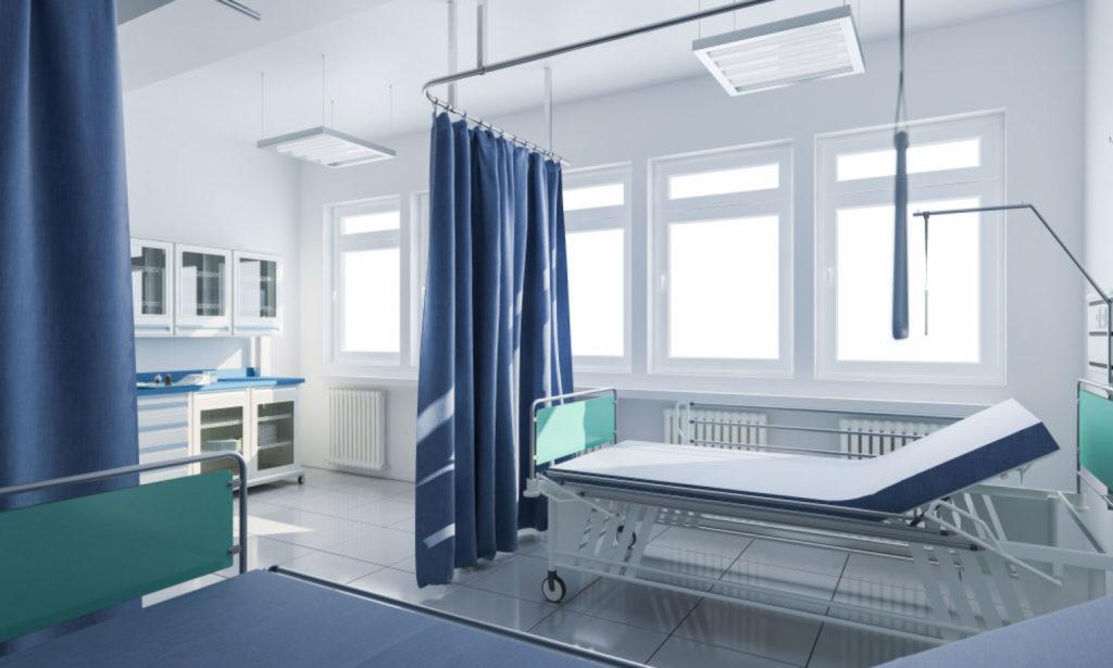 انواع پرده بیمارستانی